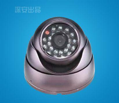 金属海螺半球型红外摄像机